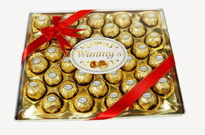 M36 Square Gift Box Chocolate (S36G)