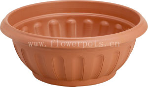 10-24 Inch Plastic Bowl Planter (KD5502-KD5507) pictures & photos