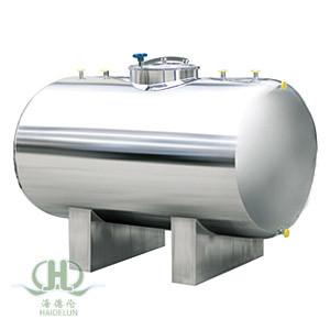Stainless Steel Horizontal Water Tank