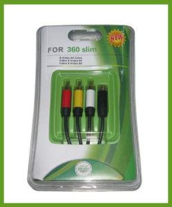 S-AV Cable for xBox360 Slim (HYS-SX007B)