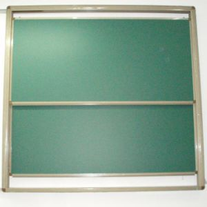 2PCS Up & Down Sliding Green & White Board pictures & photos