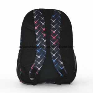 Pattern Polyester Fabric Leisure Promotion School Backpack in Good Price pictures & photos