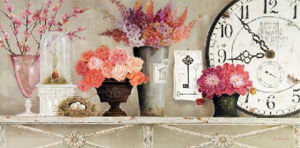 Hand Brush Stroke Canvas Painting - Still Life Flower (TP08-248)