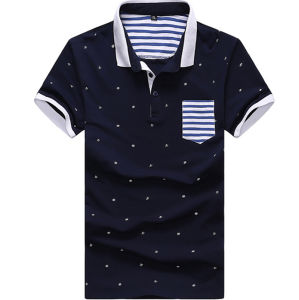 Custom Polo Shirt with Pocket pictures & photos