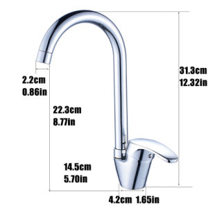 Flg New Design Competitive Price Nickel Kitchen Faucet pictures & photos