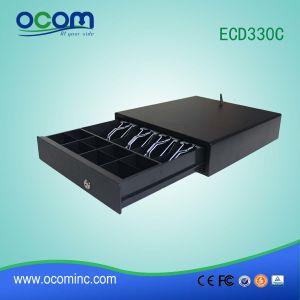 Hot Small Black 12V 24V Rj11 POS Stainless Cash Drawer/Cash Box (ECD330C) pictures & photos