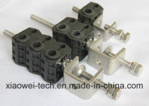 Optical Fiber and Power Wire Feeder Cable Clamp pictures & photos
