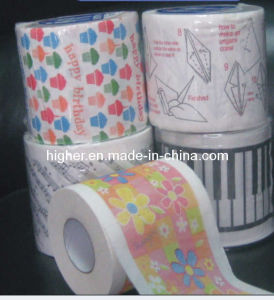 Origami/Piano Keys/Staff Printed Toilet Tissue Roll - China Tissue ...