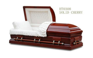 Wooden Casket with Solid Cherry (HT0308)