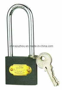 Grey Iron Padlock Long Shackle pictures & photos