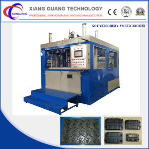 Professional Wholesale Double Heater Plastic Thermoforming Machine pictures & photos