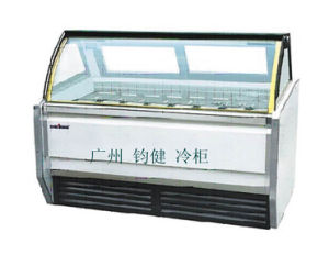 1.2 Meters Ice Cream Refrigerated Display Cabinet pictures & photos