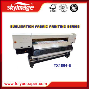 High Resolution 1, 8m Dye Sublimation Inkjet Printer Oric Tx1804-E with Four Original Epson Dx-5 for Digital Printing pictures & photos