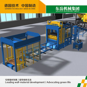 Full Automatic Fly Ash Brick Mold Machine (QT10-15) pictures & photos