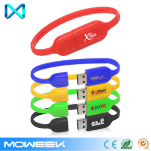 Slim USB Wristbands Flash Drive pictures & photos