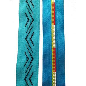 5# Colorful Print Nylon Coil Zipper (JH-NZ-53)
