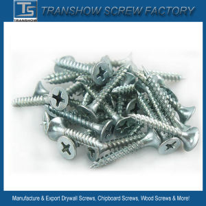 4.2X35 C1022 Steel Hardend Blue White Galvanized Drywall Screws pictures & photos