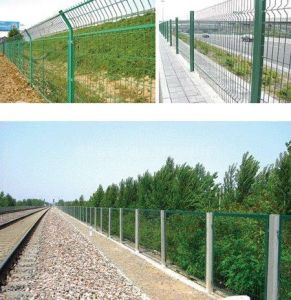 PVC Coated Welded Wire Railway Fence (DJ-260)