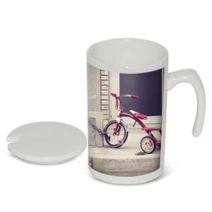 Wholesale Seven Shape Handle Straight Milk Mug Sublimation Mug Blank pictures & photos