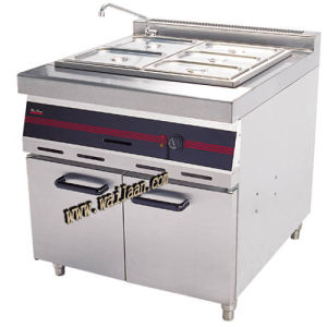 Gas Bain Marie with Cabinet (SPE/1)