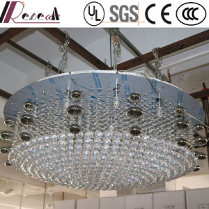European Lobby Decorative Clear Crystal Round Chandelier for Hotel pictures & photos