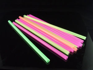 Neon Mix Colors Straight Plastic Drinking Straws pictures & photos