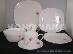 Bone China Dinner Set (HJ068003) pictures & photos