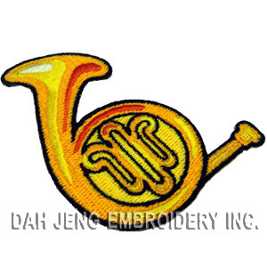 Horn Embroidered Patch pictures & photos