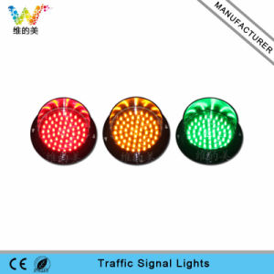 New Customized 125mm Yellow Light LED Traffic Signal pictures & photos