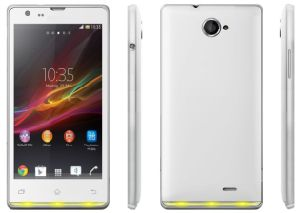 Dual GSM 5inch Mt6515 Android Phone KK M35 pictures & photos