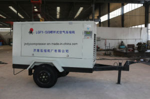 Diesel Engie Portable Movable Air Compressor pictures & photos