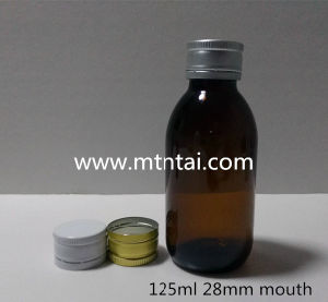 125ml Amber Glass Bottles/Oral Liquid Bottles pictures & photos