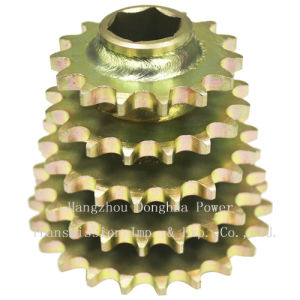 Multiple Rows of Sprockets Welding Sprockets pictures & photos