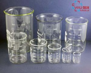 Glass Beaker for Laboratory Use