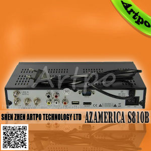 Two Protocol Azamerica S810B with 1080p, Dongle Supprt Nagra3