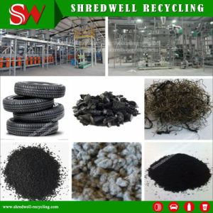 Tire Recycling Line Producing Powder Used in Gap-Graded Overlays pictures & photos