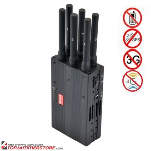 2014 New Handheld 6 Bands 4G Lte 4G Wimax Cell Phone Jammer 4G Jammer 3G Jammer (8293) pictures & photos