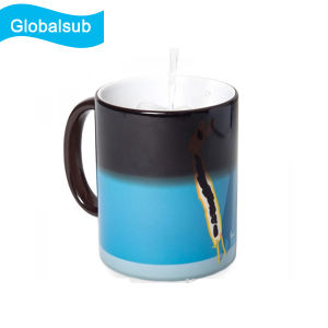 Heat Sensitive Color Changing Mug for Sublimation Printing 11oz pictures & photos