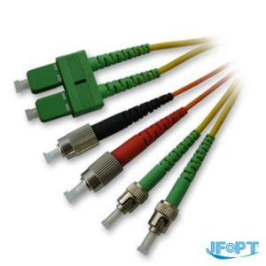 Fiber Optic Patch Cord with Sc FC St LC Connector
