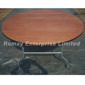 Circular Folding Table / Trestle Table (T90) pictures & photos