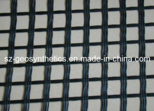 Warp Knitted Polyester Geogrid 80/80 Kn/M