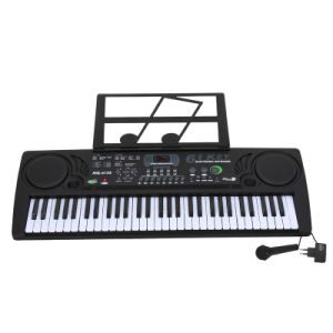 61 Keys Electronic Piano MQ6158 Blk/Silver Color (6158)