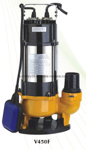 CE Approved Stainless Steel Sewage Water Pump (V450F(WQ50-7-0.45)) pictures & photos