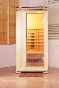 Wooden Infrared Sauna Cabin (Royal-I-S4)