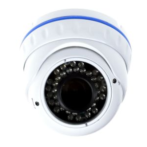 Waterproof CCTV Cameras Manual Zoom Lens 3-Axis Metal Dome Camera pictures & photos