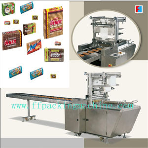 Envelope Type X-Folded Biscuit Overwrapping Packaging Machine pictures & photos