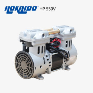 High Efficiency Performed Oiless Piston Portable Vacuum Pump (HP-550V)