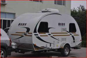 Motorhome RV Caravan Camper Trailer Truck with Tent