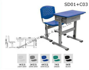 Plastic School Table (SD01+C03)