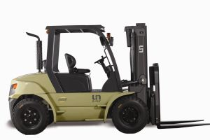 Un U Series Capacity 6000kg Heavy Duty 6.0t Diesel Forklift pictures & photos